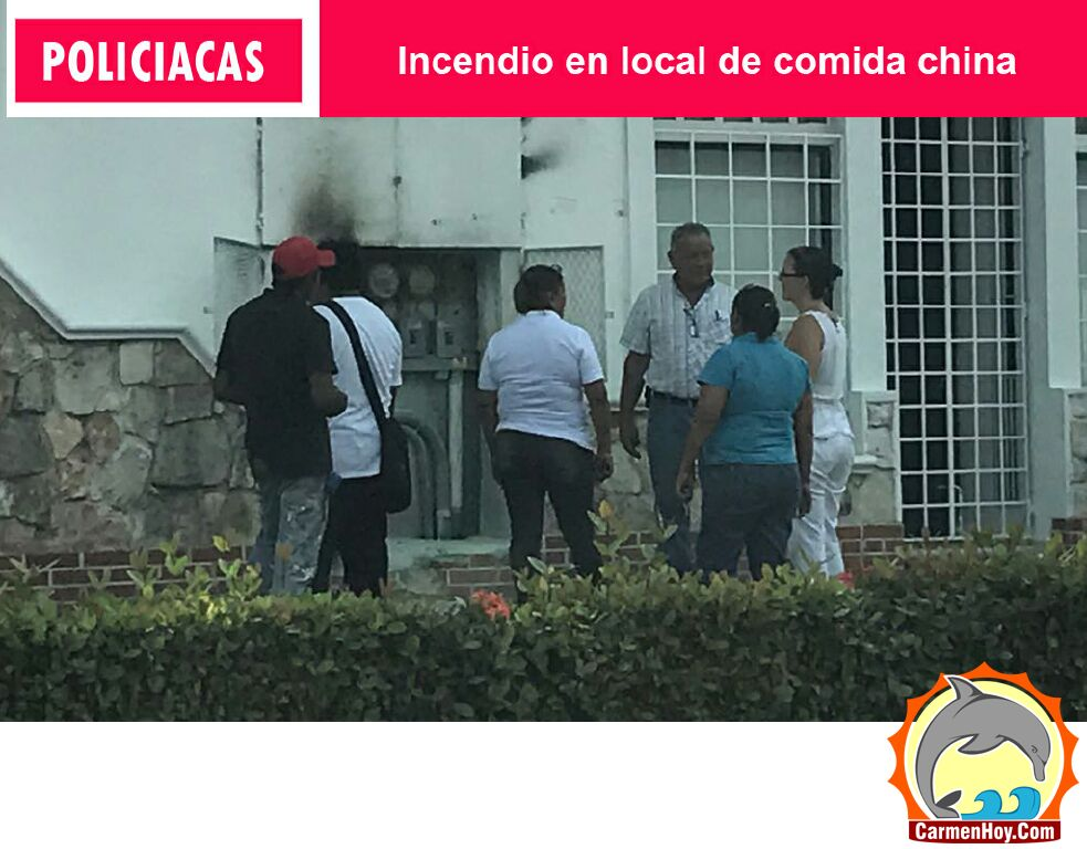 Policíacas - Incendio en local de comida china - policiacas